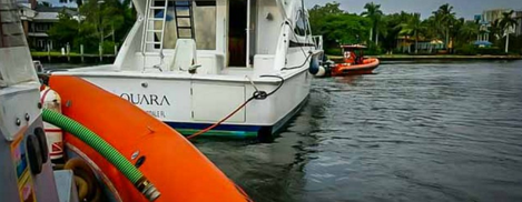 boat towing service miami
